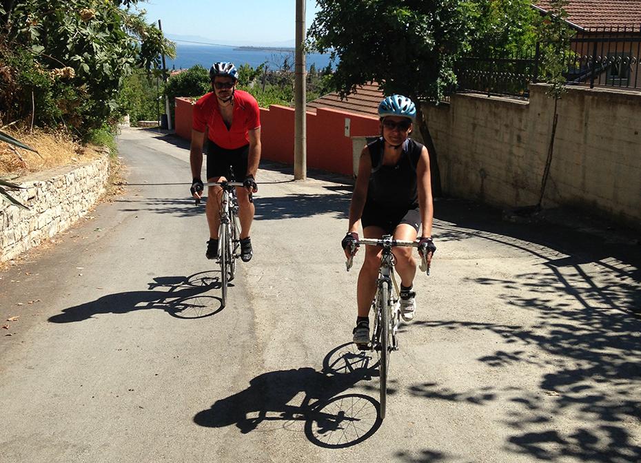 sehirde bisiklet turu