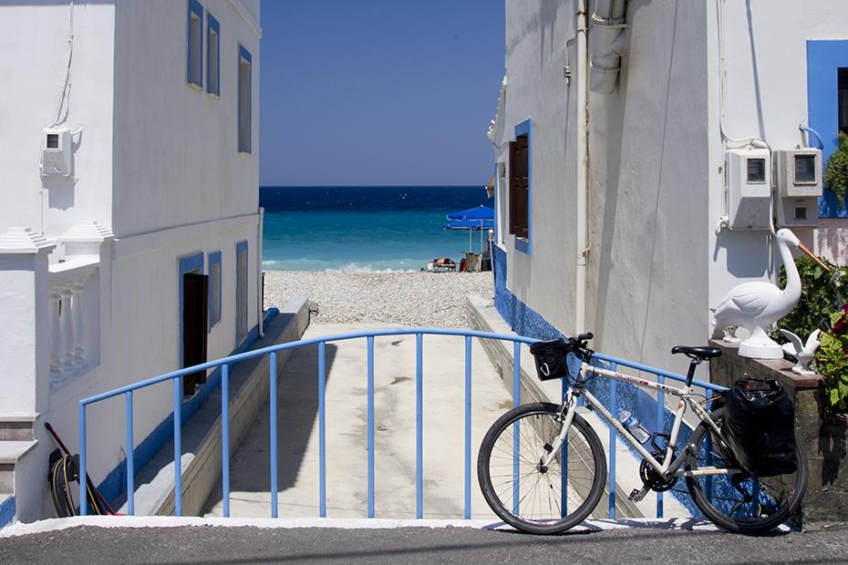 samos bicycle tour