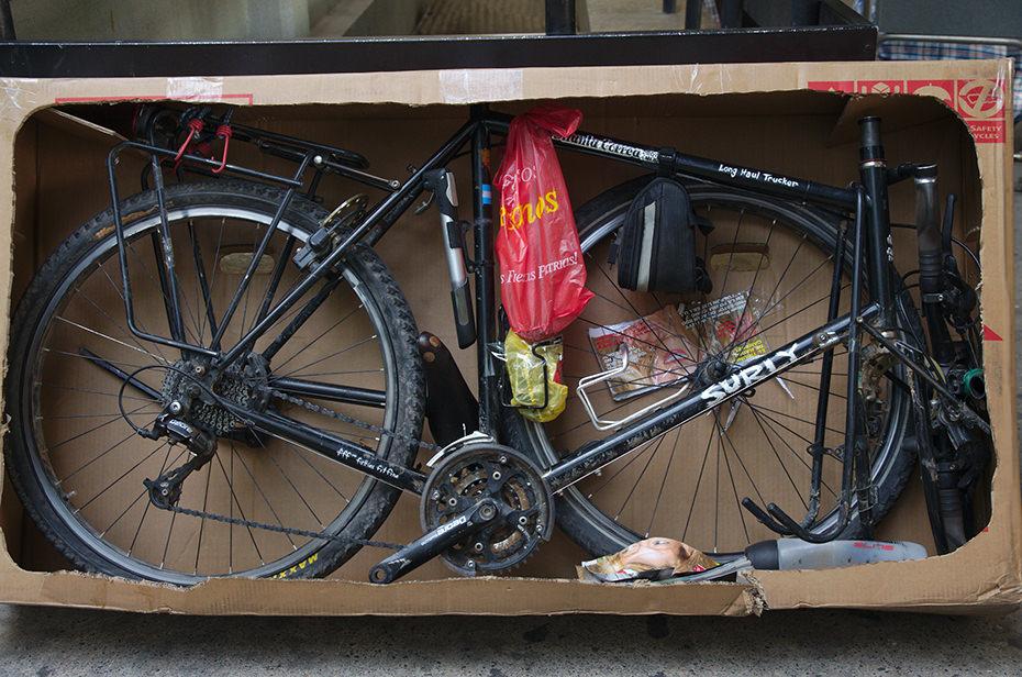 bisiklet karton kutu