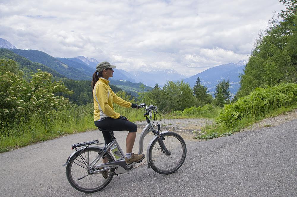 avusturya elektrikli bisiklet turu