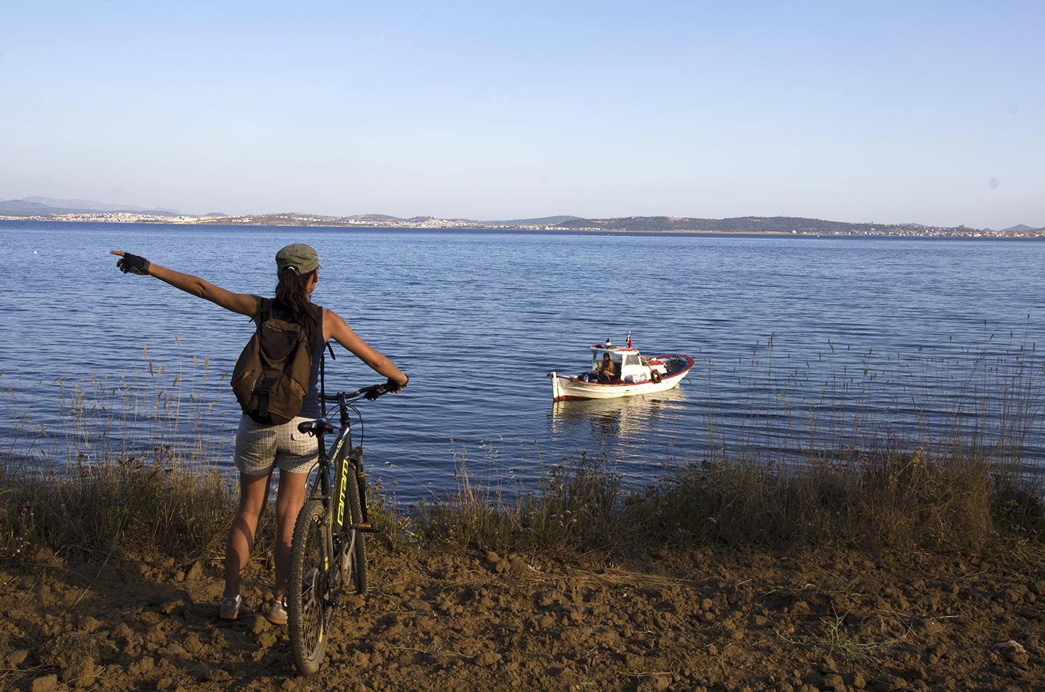 cunda adası bisiklet turu