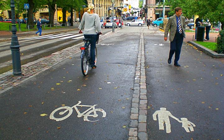 surdurulebilir ulasim yaya bisiklet