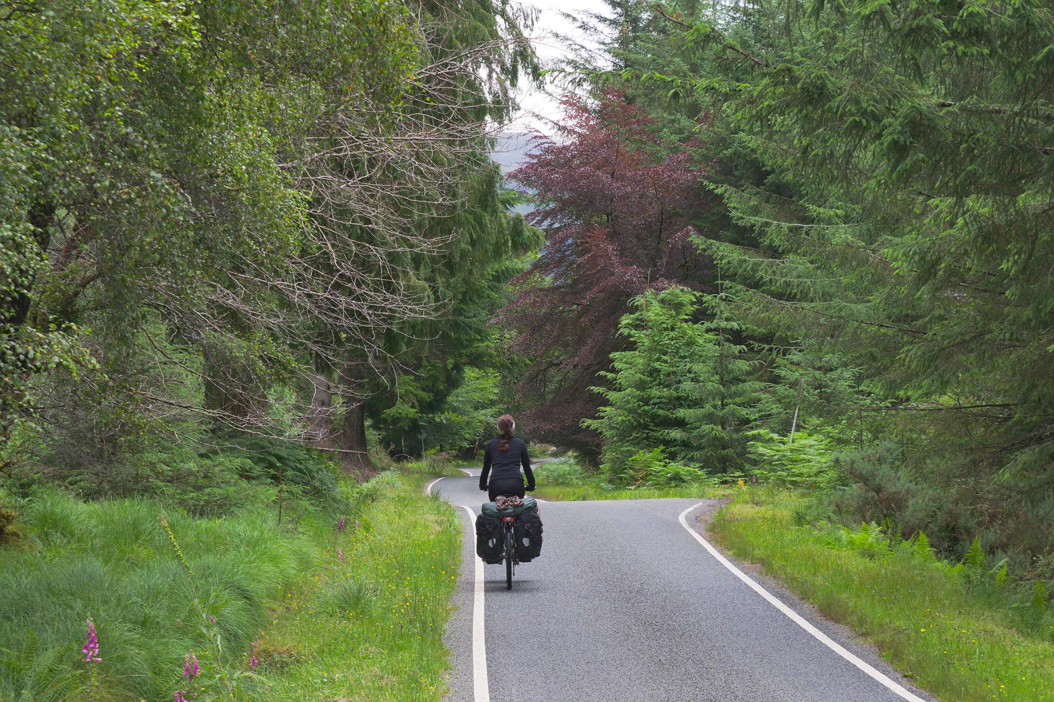 iskoçya bisiklet turu