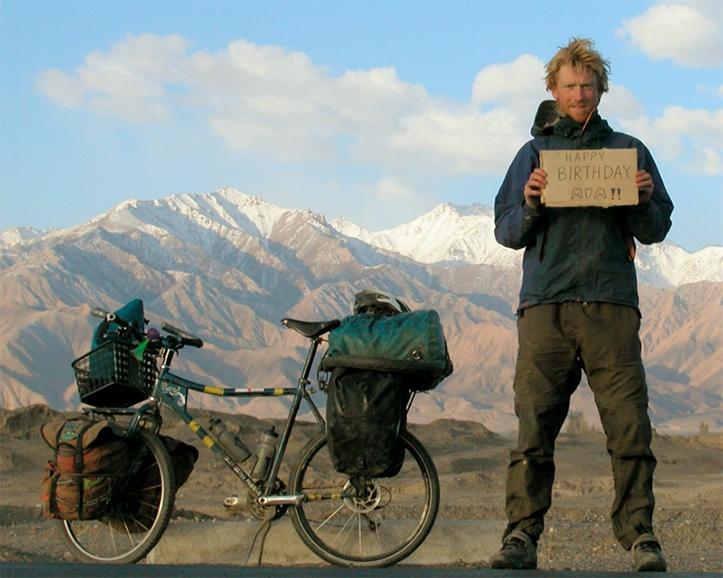Alastair Humphreys bisikletizm