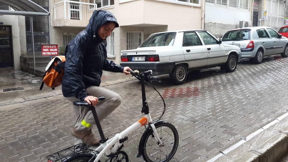 işe bisikletle gitmek