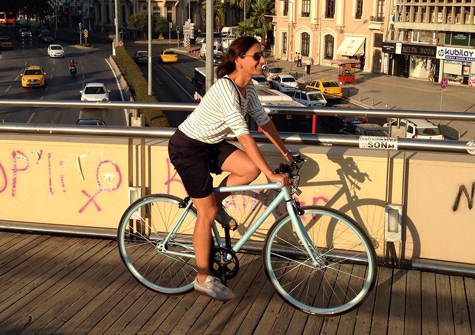 yaya ve bisiklet surdurulebilir ulasim izmir