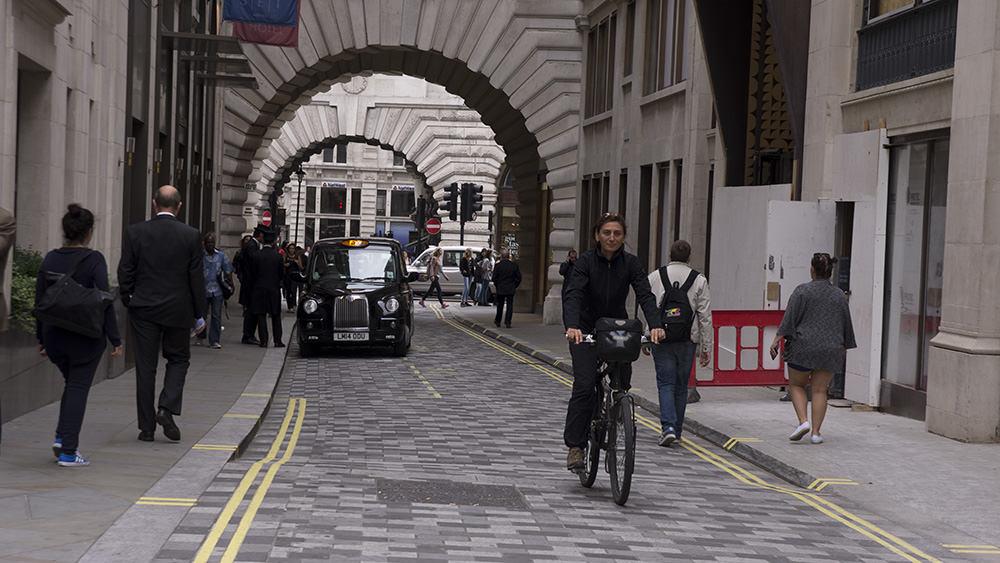 Londra Bisiklet kafe
