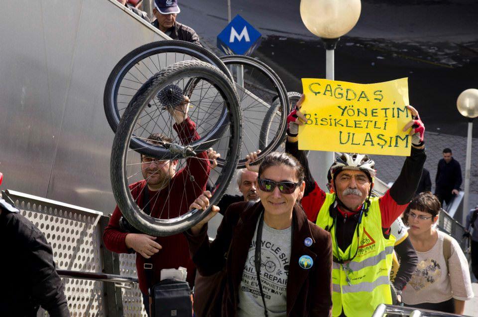 bisiklet metroya nasil alindi