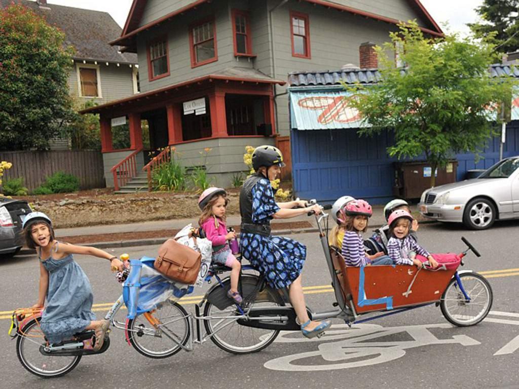 bisiklet için çocuk taşıma