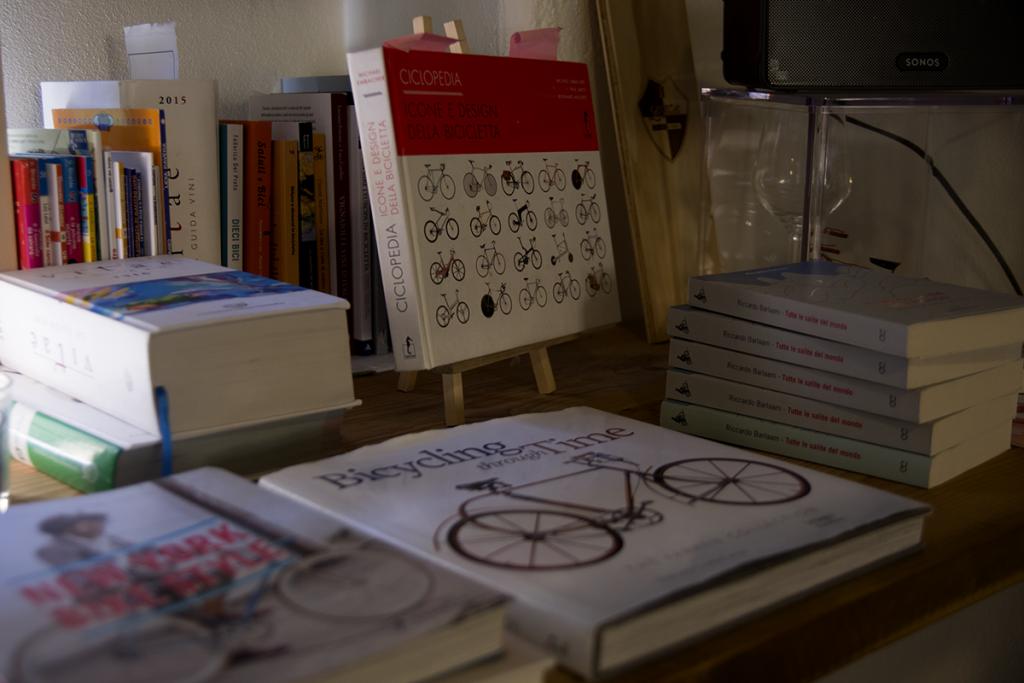bisiklet ve kitap