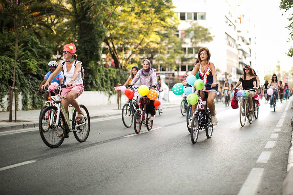eglenceli bisiklet etkinligi