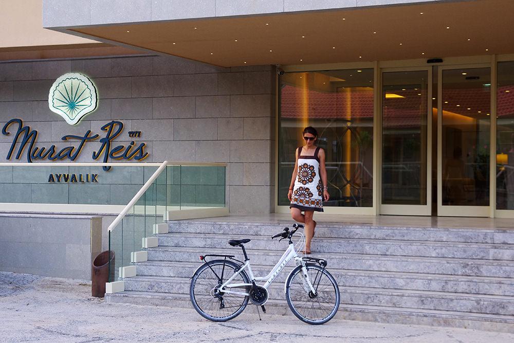 bisikletle ayvalik murat resi otel