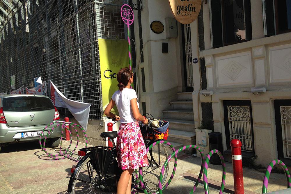 bisiklet park yeri izmir