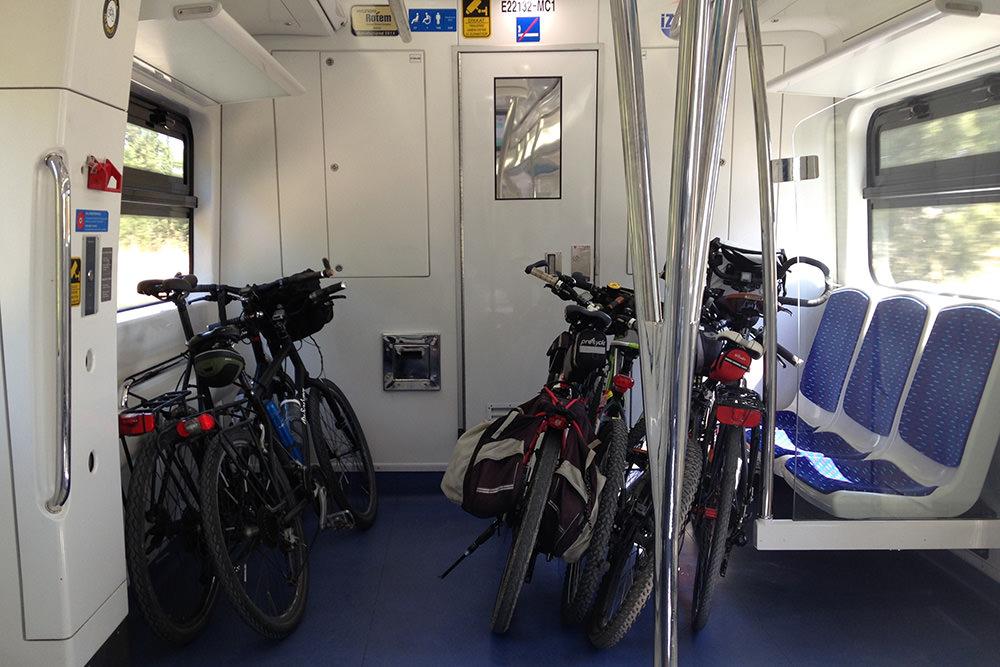 izban bisiklet tasima