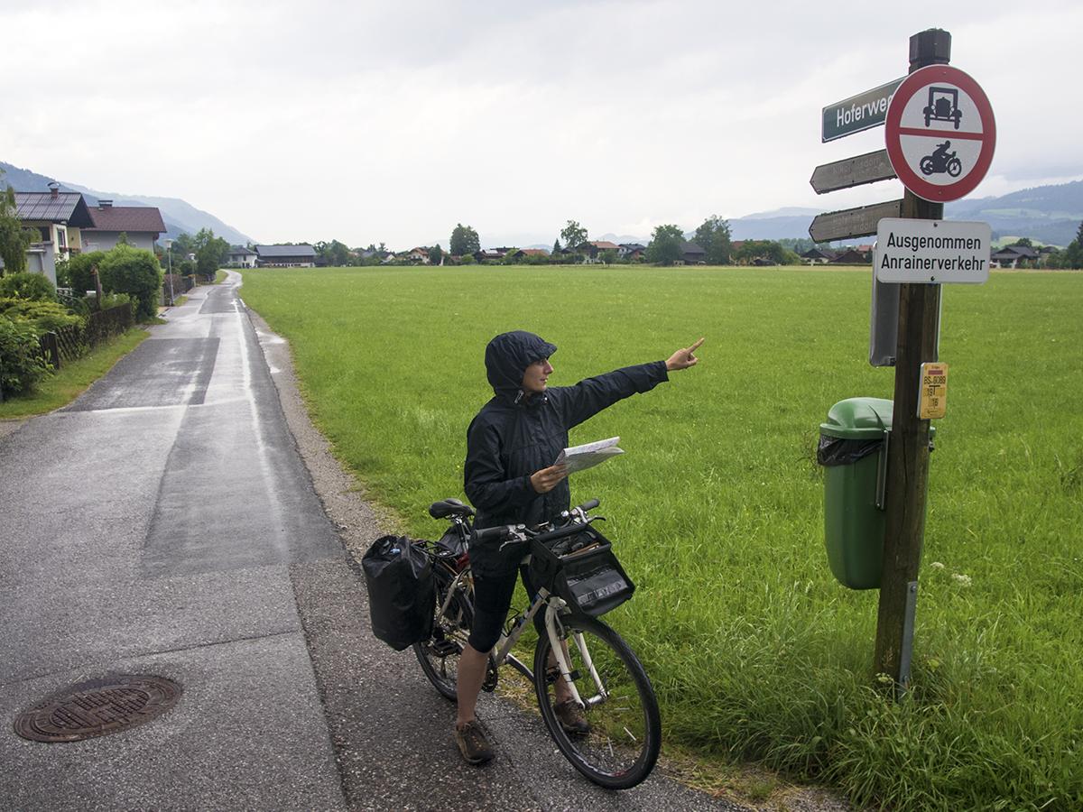 bisikletli turist dostu