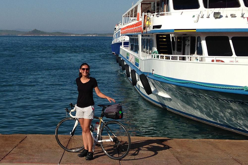 midilli bisiklet turu ve gezi
