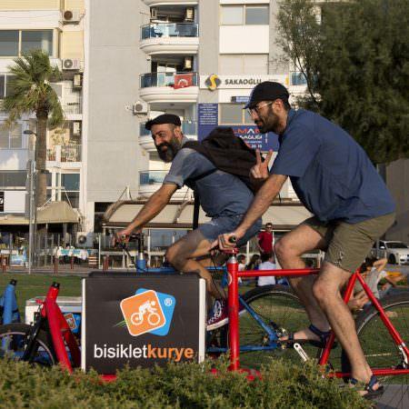 bisikletli kurye lojistik