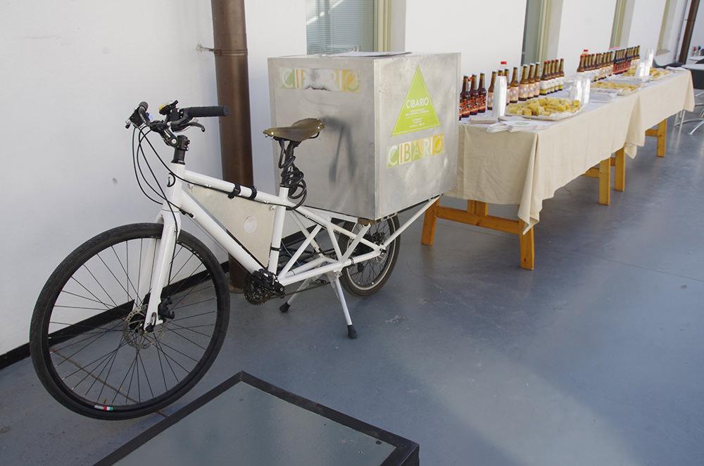 bisiklet lojistik yemek