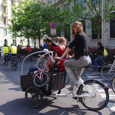 cyclopride milano cargobike