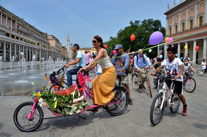 bike party reggio emilia