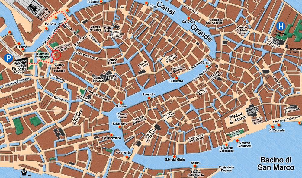 Venedik gezi
