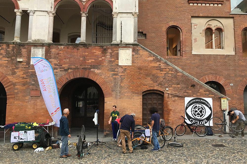 bisiklet festivali bisiklet tamiri